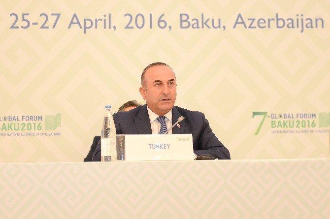 """Çavuşoğlu: """"Daeş, El Kaide, PKK, Pyd Ve DHKP-C Gibi Terör Örgütleri Arasında Hiçbir Fark Yok"""""""