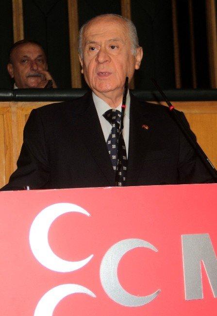 MHP Genel Başkanı Bahçeli, TBMM Başkanı Kahraman'ın Sözlerini Değerlendirdi
