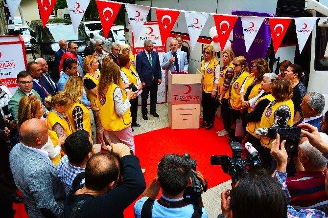 Kızılay'a 'Kan Bağışı Otobüsü'