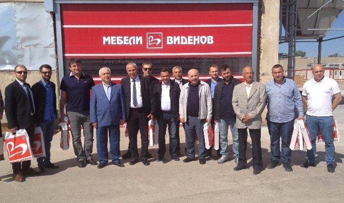 Samsunlu Mobilyacılar Bulgaristan'dan Umutlu Döndü