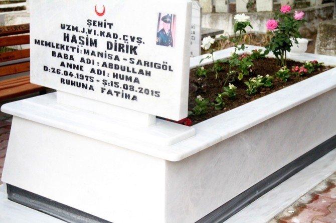 Şehidin Doğum Gününde Mezarına Düzenleme Yapıldı