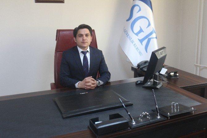 Bulanık SGK Müdürü Temizkan, Göreve Başladı