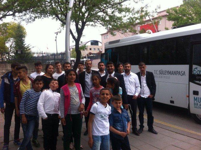 Çocuk Bayramını Süleymanpaşa Belediyesi İle Ankara'da Yaşadı