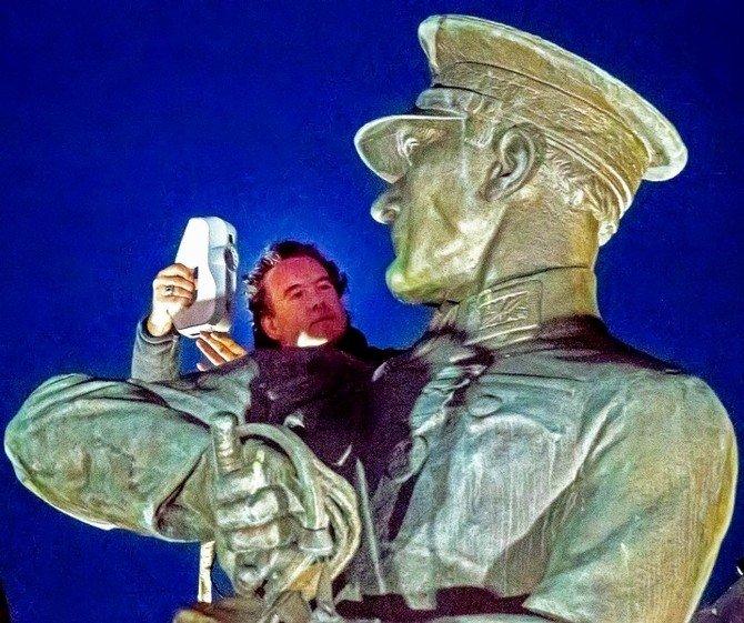 Türkiye'nin İlk Dijital Atatürk Heykeli'nde Sona Doğru
