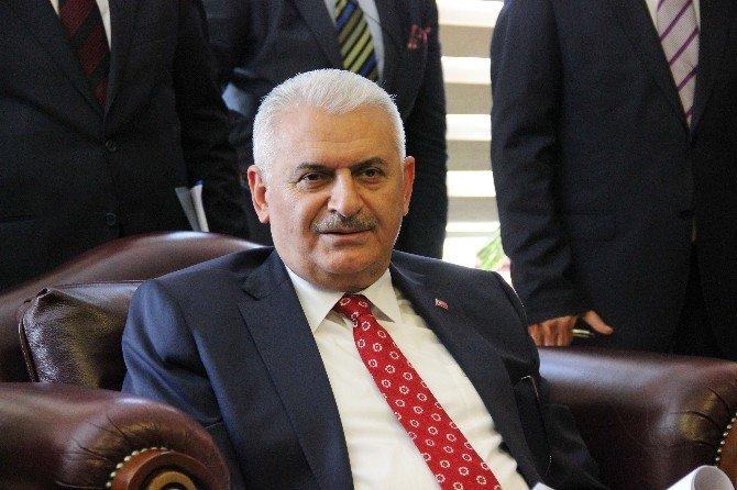 Ulaştırma Bakanı Binali Yıldırım Karabük'te