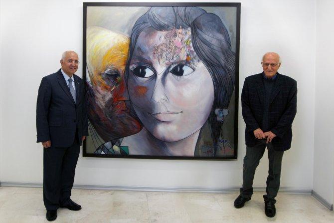 Resme gecekonduda başlayan ressam, Plastik Sanatlar Müzesi kurdu