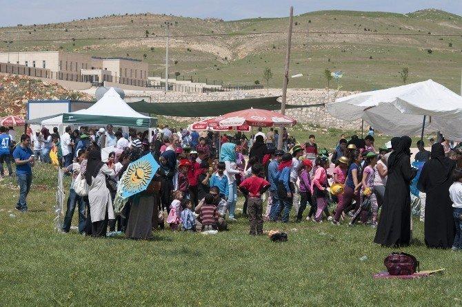 Mardin'de 'Televizyonu Kapat, Uçurma Uçur' Etkinliği