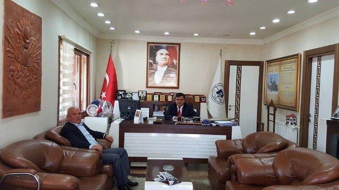 Askf Başkanı Tosun'dan Pazaryeri Belediye Başkanı Yalçın'a Ziyaret