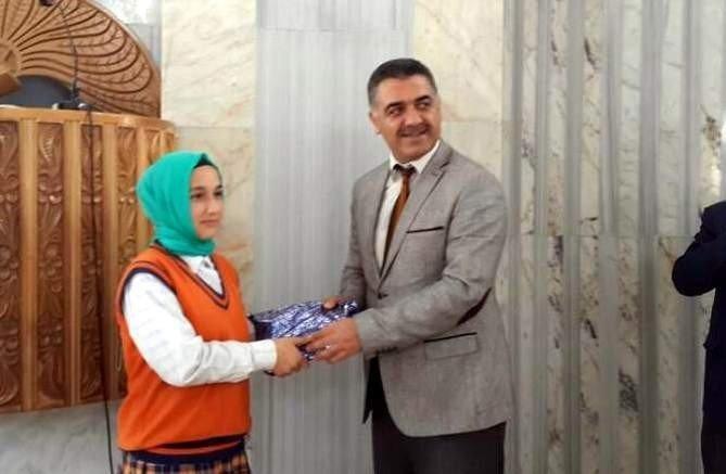 Kız Öğrenciler Arası Kur'an-ı Kerim Yarışması Yapıldı