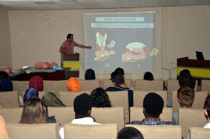 ADÜ'de İlk Yardım Eğitimi Düzenlendi