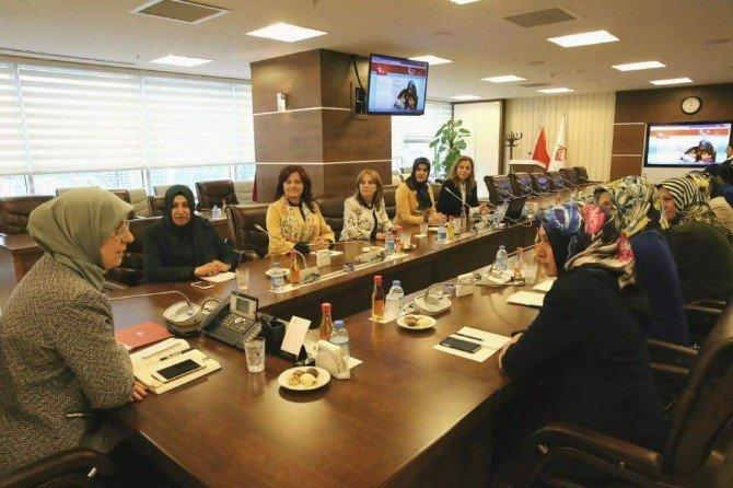 AK Partili Kadınlardan Bakan Ramazanoğlu'na Ziyaret