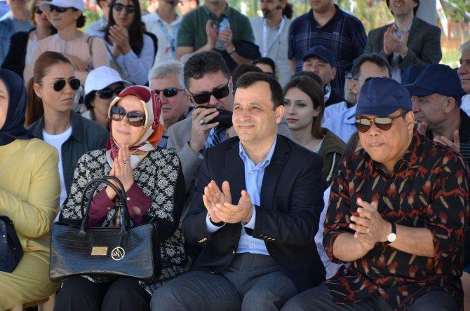 Yüksek mahkemelerin başkanları EXPO 2016 Antalya'yı gezdi