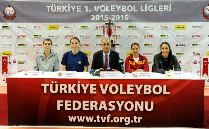 Kadınlar Voleybol Ligi Şampiyonu Ankara'da belli olacak