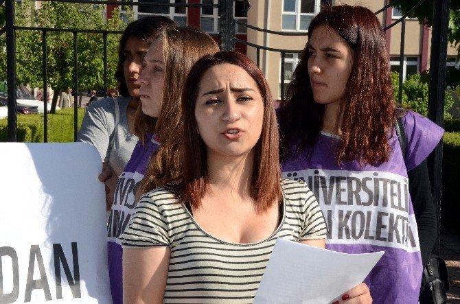 Okullarda Yaşanan Taciz Olaylarına Tepki Gösterdiler