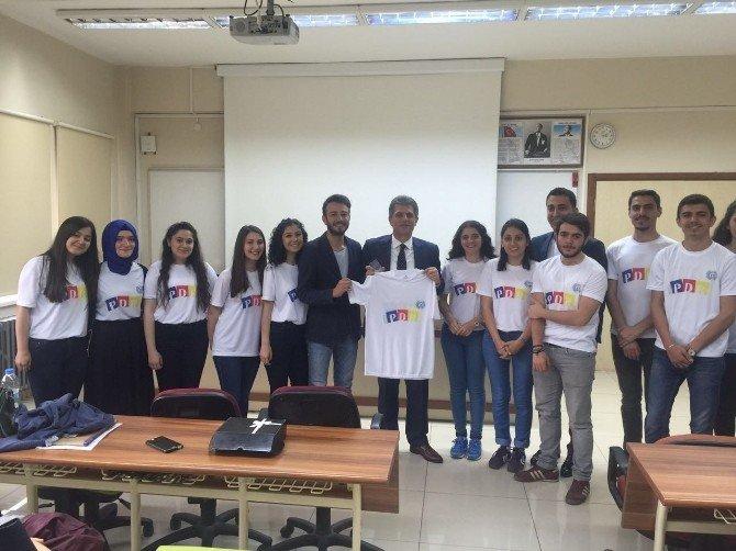 Arsin Belediye Başkanı Şen Üniversite Öğrencileriyle Buluştu