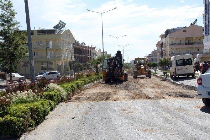 Aydın Büyükşehir Belediyesi'nden Didim'de Asfalt Atağı