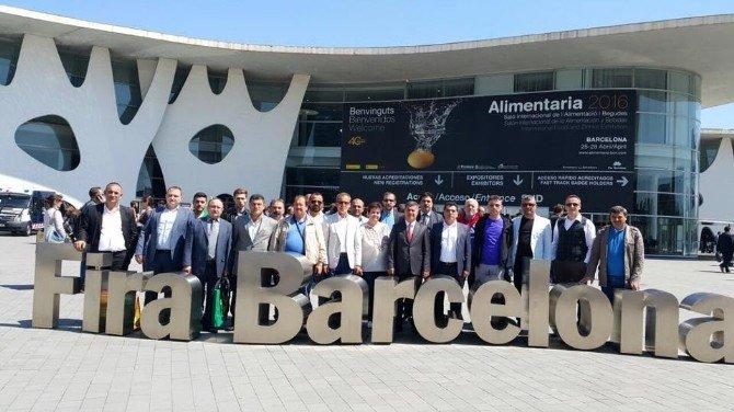 Bafra TSO Üyeleri Barselona'da
