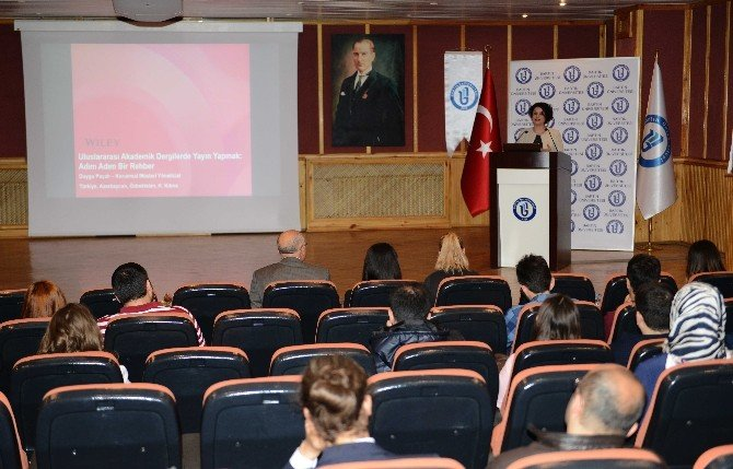 BÜ'de Akademik Yayın Çalıştayı Gerçekleştirildi
