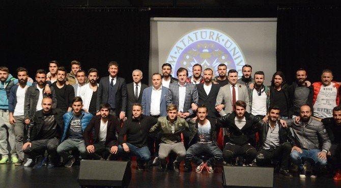 Bb Erzurumspor'un Şampiyonluk Öyküsü Anlatıldı