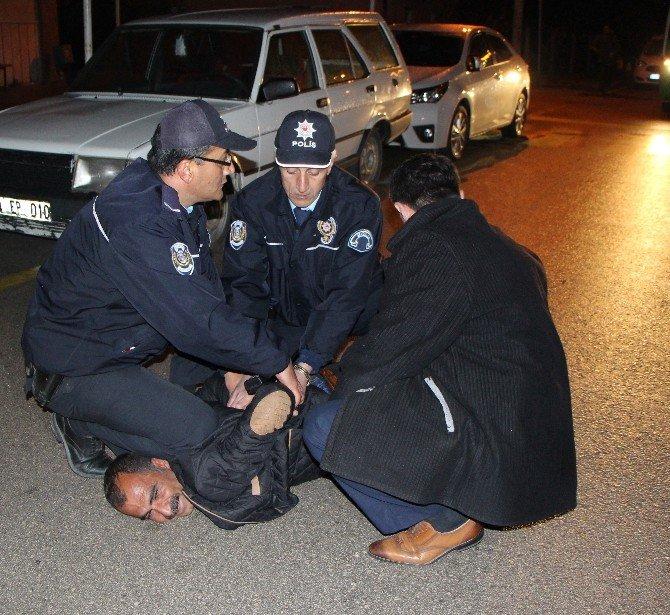 Bolu'da İkiz Plaka Otomobil Fünye İle Patlatıldı