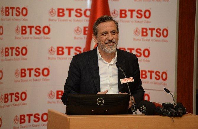 Bursa Ekonomisinin BTSO'da Temsil Kabiliyeti Arttı