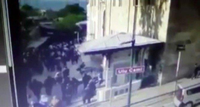 Bursa'da Saniye Saniye Patlama Anı