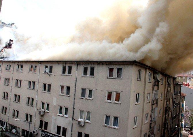 Çankırı'da Yangın