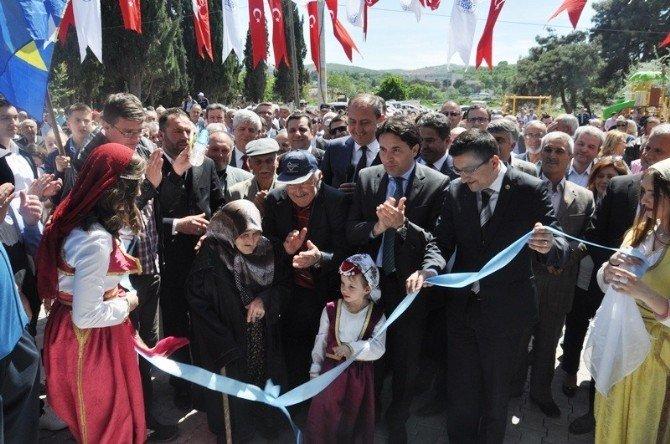 Çavuşköy Düğün Salonu Törenle Açıldı