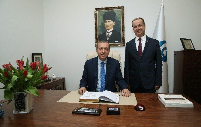 Erdoğan, Zagreb Yunus Emre Kültür Merkezi'ni Açtı