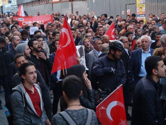 CHP'den Taksim'de 'laiklik' yürüyüşü