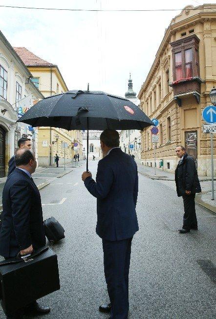 Cumhurbaşkanı Erdoğan, Hırvatistan Meclis Başkanı Reıner İle Görüştü