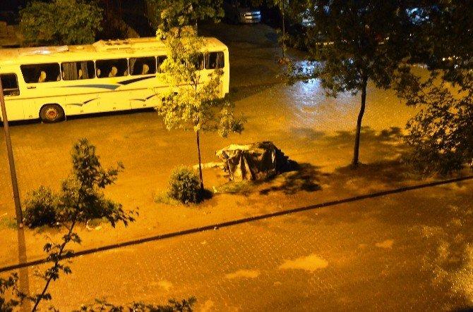 Fatsa'da Fırtına Etkili Oldu