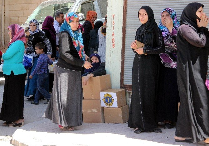 Savaş Mağduru Türkmenlere Yardım