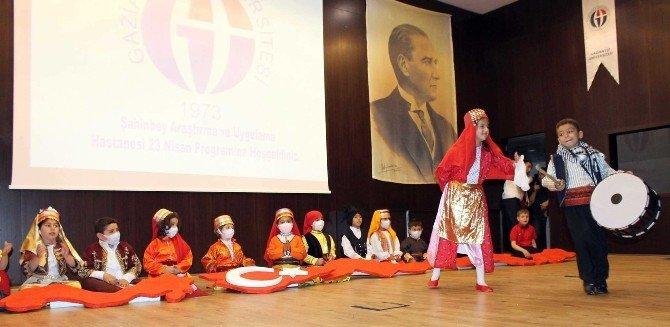 Gaziantep Onkoloji Hastanesi'nde 23 Nisan Kutlaması