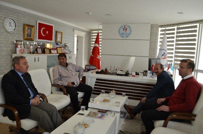Erzurumspor'dan Ghsim'ye Ziyaret
