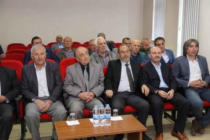 Gümüşhane'de Kamu-özel Sektör İstişare Toplantısı Gerçekleştirildi
