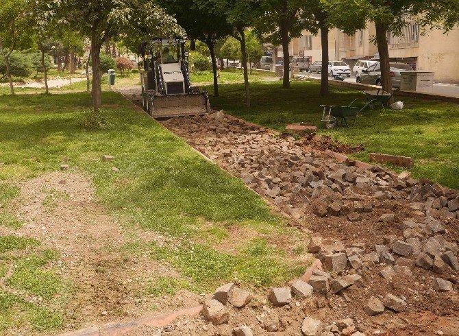 Korukent Parkını Yeniden Dizayn Ediliyor