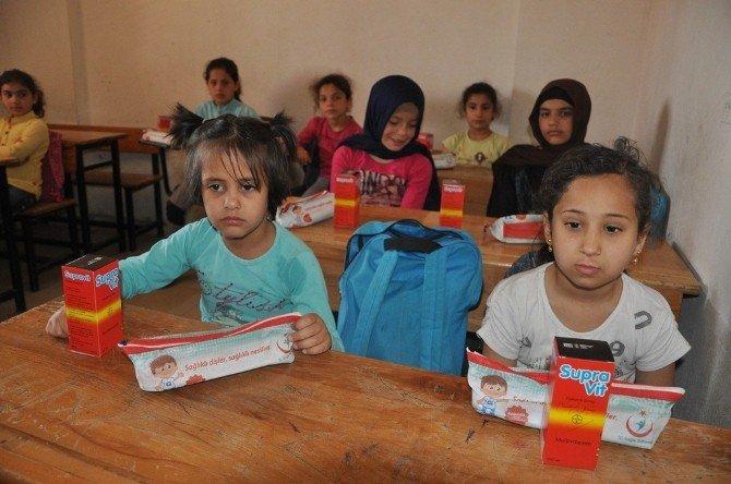 Suriyeli Yetim Çocuklara Sağlık Taraması