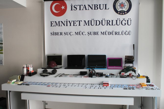 ATM hırsızları rezidansta yakalandı