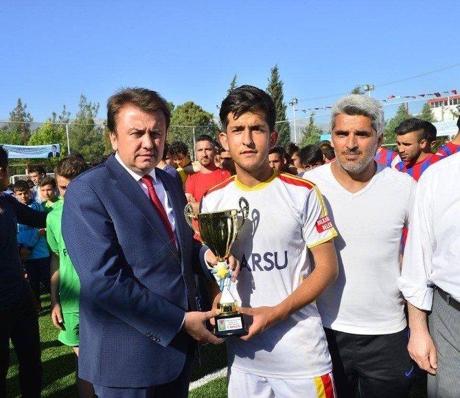 Kahramanmaraş'ta Futbol Turnuvası Sona Erdi
