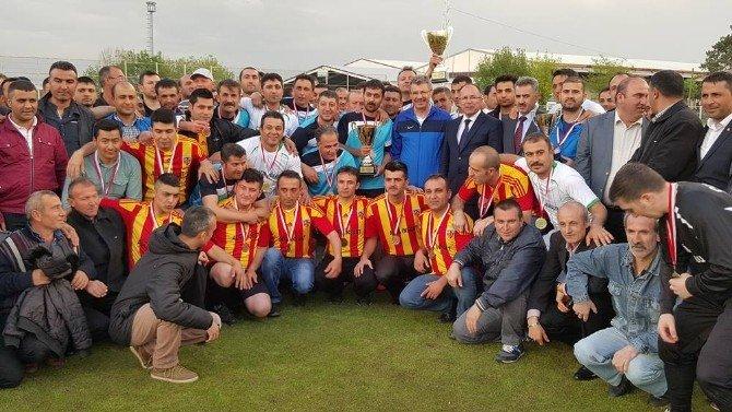 Kayseri Şeker Futbol Turnuvasında 25 Takım Mücadele Etti