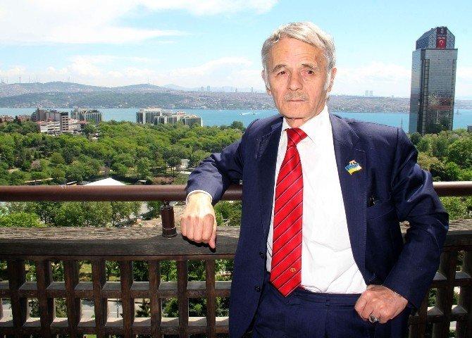Kırım Tatar Liderinden İslam Ülkelerine Sitem, Rusya'ya Gözdağı
