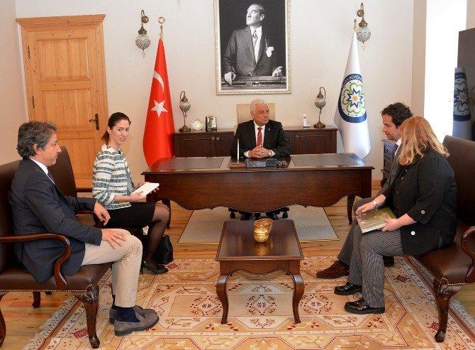 Macaristan Başkonsolosu'ndan Başkan Gürün'e Ziyaret