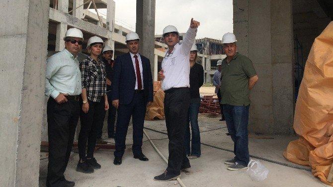 Akdeniz Kültürlerini Araştırma Ve Kongre Merkezi İnşaatı Devam Ediyor