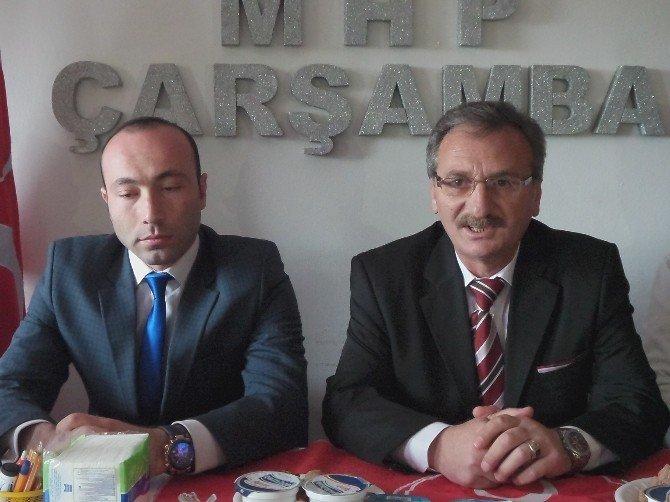MHP Çarşamba'nın Yeni Yönetimi Tanıtıldı