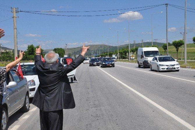 MHP Genel Başkan Adayı Meral Akşener Balıkesir'de