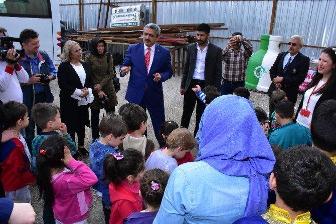 Nazilli'de Anaokulu Öğrencileri Eğitim Gezisine Çıktı