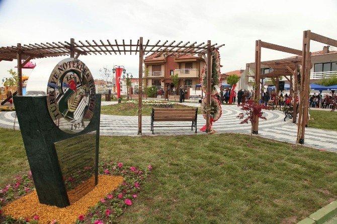 Noterler Parkı Törenle Açıldı