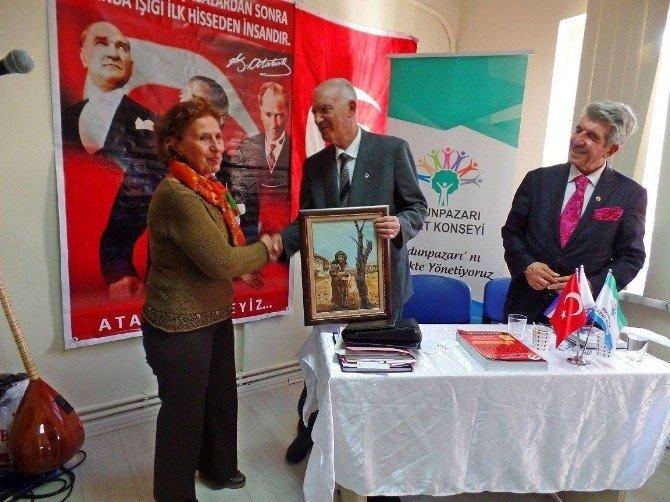 Odunpazarı Kent Konseyi Muharrem Kubat'ı Konut Etti