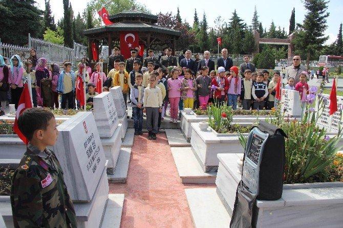 Samsun'da Şehitler İçin Anma Töreni
